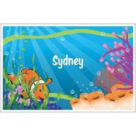 Clownfish Personalized Placemat (each)