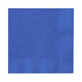 Blue Beverage Napkins (50)