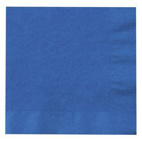 Cobalt Lunch Napkins (50)
