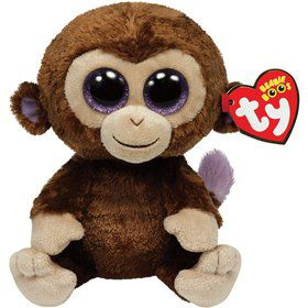 "Coconut the Monkey 6"" TY Beanie Boo (Each)"