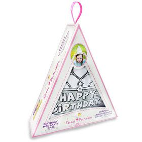 Color A Birthday Hat DIY Set (4 Pack)