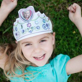 Color A Princess Tiara DIY Set (Each)