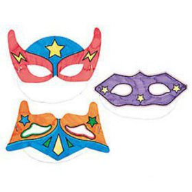 Color Your Own Superhero Masks (12)