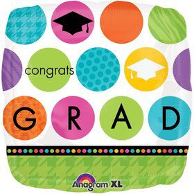 "Colorful Commencement 18"" Balloon (Each)"