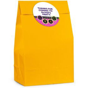 Colorful Commencement Personalized Favor Bag (12 Pack)
