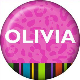 Colorful Graduation Personalized Mini Button (Each)