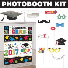 Colorful Graduation Standard Photo Booth Kit
