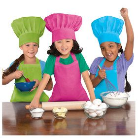 Colorful Kids Aprons(3)
