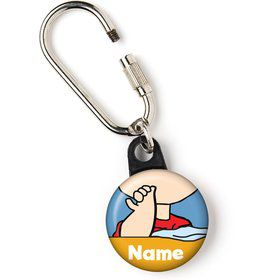 "Comic Strip Kids Personalized 1"" Carabiner (Each)"