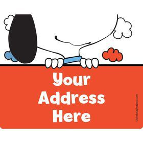 Comic Strip Kids Personalized Address Labels (Sheet of 15)