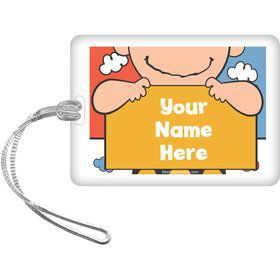 Comic Strip Kids Personalized Bag Tag (Each)