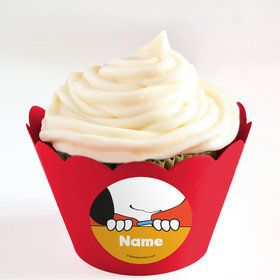 Comic Strip Kids Personalized Cupcake Wrappers (Set of 24)
