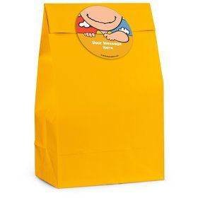 Comic Strip Kids Personalized Favor Bag (12 Pack)