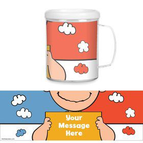 Comic Strip Kids Personalized Favor Mug (Each)