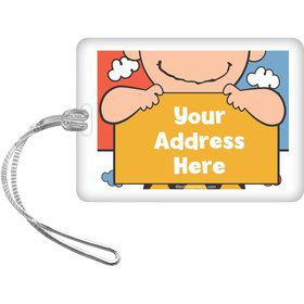Comic Strip Kids Personalized Luggage Tag (Each)