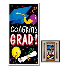 Congrats Grad! Door Cover Decoration (Each)