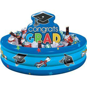 Congrats Grad Inflatable Cooler (Each)