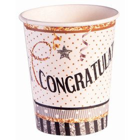 Congratulations Paper 9oz Cups (8)