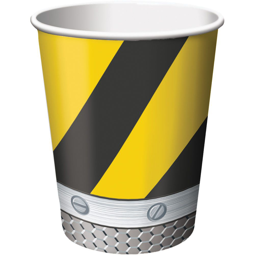 Construction 9Oz Cups (8 Pack) BB375590