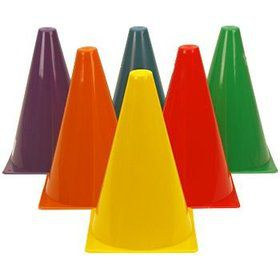 Construction Cones (12-pack)