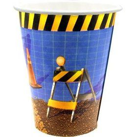 Construction Cups (8-pack)
