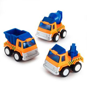 Construction Vehicles Assorted (Each)