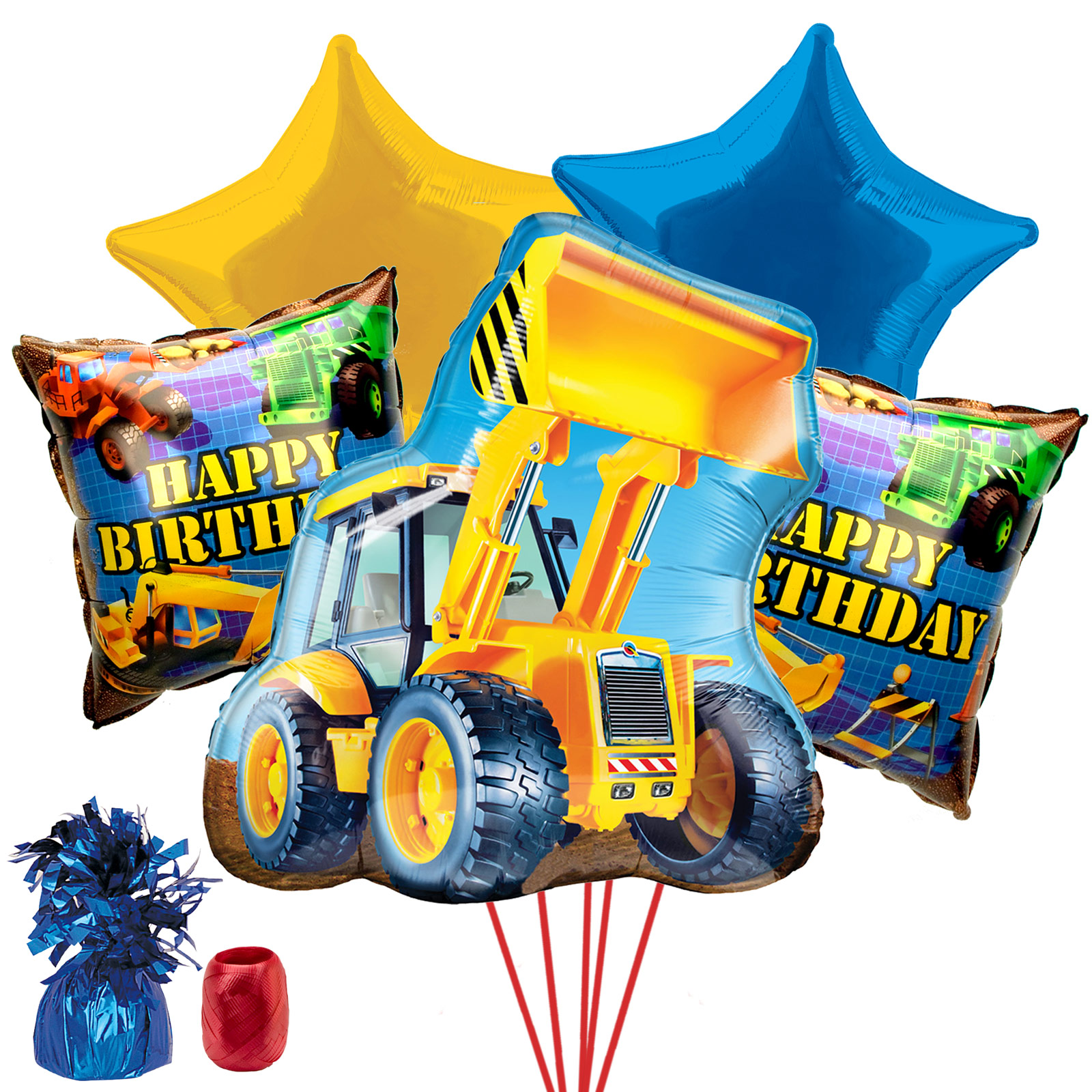 Construction Party Supplies Balloon Kit BB102148