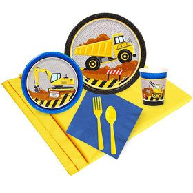 Construction Party Party Pack (8)