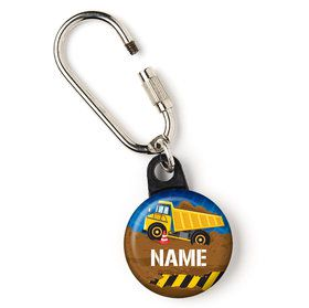 "Construction Party Personalized 1"" Carabiner (Each)"