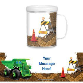 Construction Personalized Favor Mugs (Each)