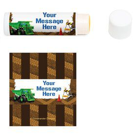 Construction Personalized Lip Balm (12 Pack)