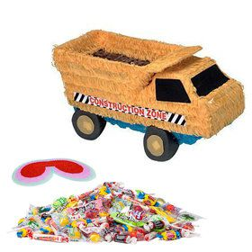 Construction Truck Pinata Kit