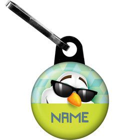 Cool Snowman Personalized Zipper Pull (Each)