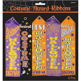 Costume Award Ribbon Multi-Pack (5 Count)