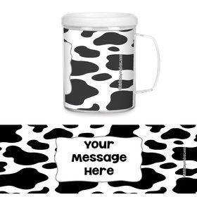 Cow Personalized Favor Mugs (Each)