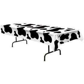 Cow Print Table cover (Each)
