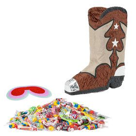 Cowboy Boot Pinata Kit