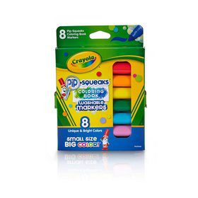 Crayola 8ct. Pip-Squeaks Markers