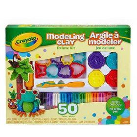 Crayola Modeling Clay Fun Kit (6 Pack)
