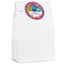 Crayola Uni-Creatures Personalized Favor Bag (12 Pack)