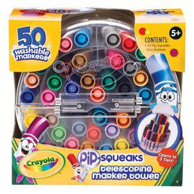 Crayola Washable Pip-Squeaks (50 Ct)