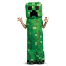 Creeper Inflatable Child Costume