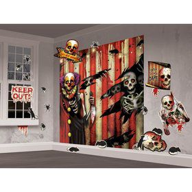 Creepy Carnival Wall Decorating Kit (Each)