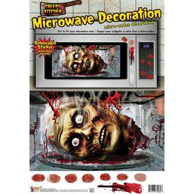 Creepy Kitchen Microwave Decoration (1)