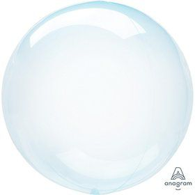 "Crystal Clearz 10"" Petite Balloon - Blue"