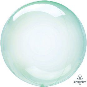 "Crystal Clearz 10"" Petite Balloon - Green"