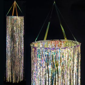 Crystal Large Hanging Cascade