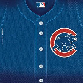 Cubs Luncheon Napkins (36 Pack)