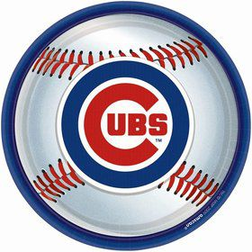 "Cubs Plates, 9"" (18 Pack)"