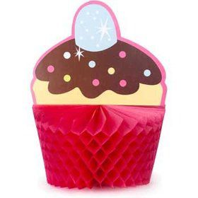 Cupcake Birthday Centerpiece (each)